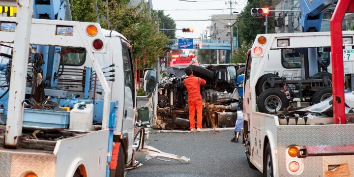 交通事故の被害にあったときの事故現場での初期対応まとめ