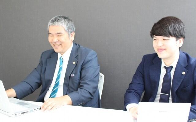 笹野弁護士とと川村弁護士