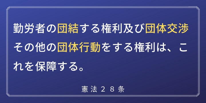 憲法28条