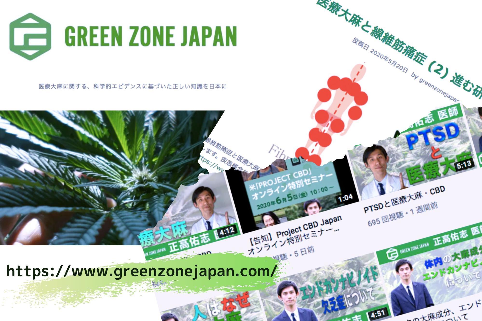 Green Zone JapanのWEBサイト