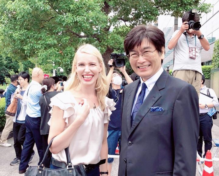 ベロスルドヴァ・オリガ弁護士と伊藤真弁護士