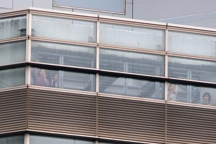 東京入管の上層階